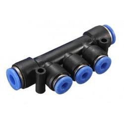 Kolektor 2x ⌀4 mm - 3x ⌀4 mm
